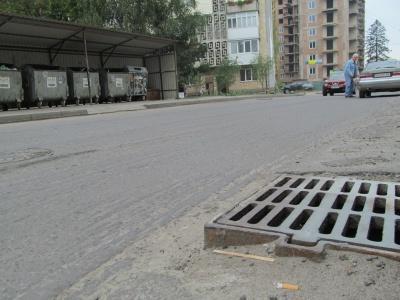 Вулицю Каспрука в Чернівцях відремонтують до кінця тижня
