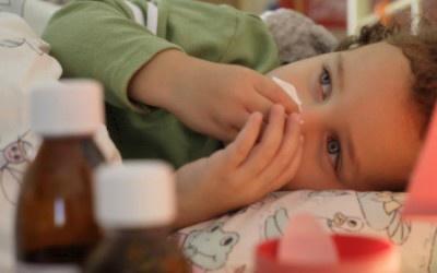 На Буковині більшість хворих на ГРВІ – діти