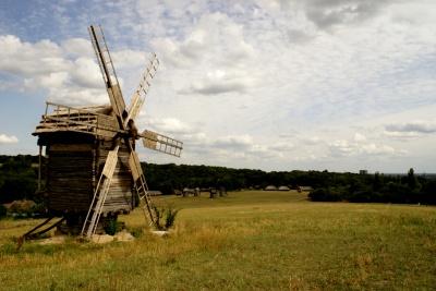 На Буковині горів історичний вітряк