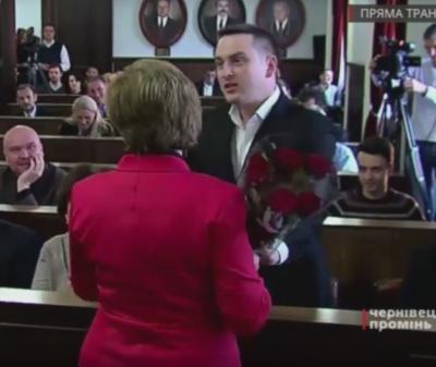 Квіти на дні народження депутатам купують не за кошти з бюджету Чернівців
