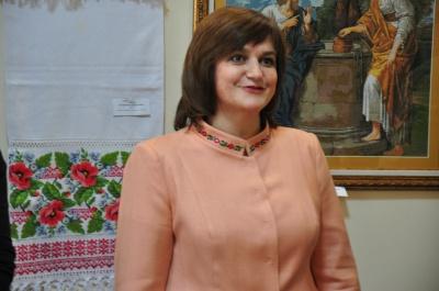Ганна Бугай представила чернівчанам більше 50 вишитих робіт