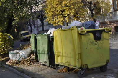 У Чернівцях мерія виділила 50 тисяч гривень на контейнери для сміття