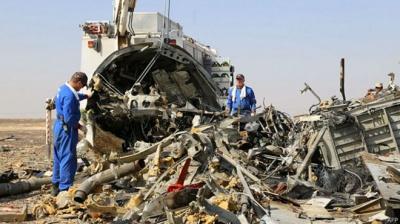 Оприлюднено попередній аналіз самописців російського А321, який розбився в Єгипті