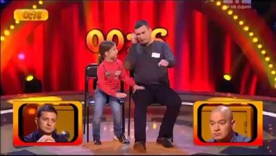 Тато з донькою-другокласницею з Чернівців розсмішили коміків на 50 тисяч (ВІДЕО)