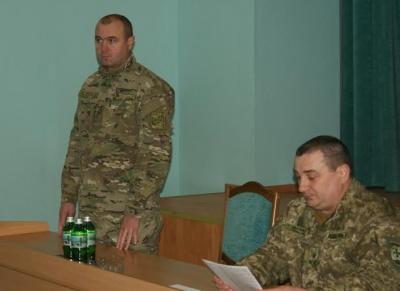 Представлено нове керівництво Чернівецького прикордонного загону