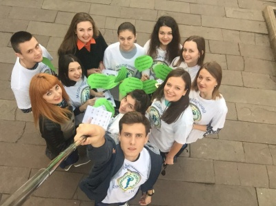 Студенти БДМУ провели акцію до «Дня сліпих»