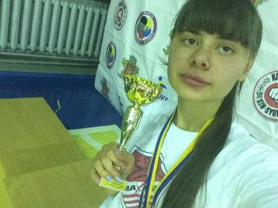 Студентка БГМУ стала чемпионкой области по каратэ