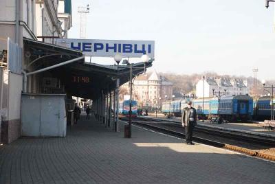 """На Новий рік і Різдво ходитиме додатковий потяг """"Чернівці-Київ"""""""