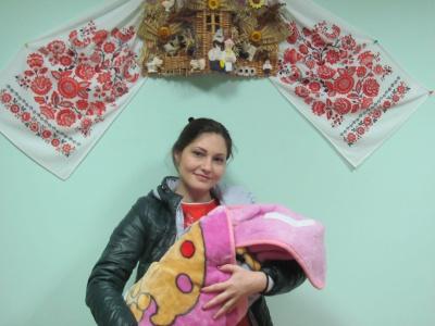 Охрестили доньку лікаря з Чернівців, який загинув у зоні АТО