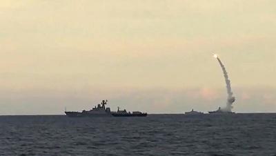 Росія нанесла ракетний удар по Сирії з кораблів Каспійської флотилії