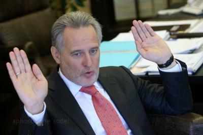 Аваков обіцяє арештувати Фірташа, якщо той повернеться в Україну