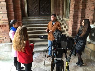 Студенти ЧНУ зняли фільм про свого викладача, який повернувся з війни (ВІДЕО)
