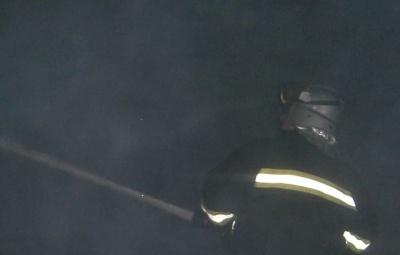 Уночі на Комарова в Чернівцях горіла іномарка