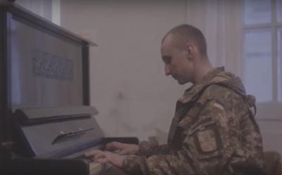 """Чернівчанин презентував нове відео з проекту """"Музика воїнів"""" (ВІДЕО)"""