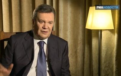 Янукович заявив про своє бажання повернутися у політику