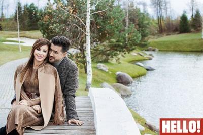 Ані Лорак з чоловіком-турком сфотографувалися для російського журналу