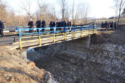 У Красноїльську відкрили новий міст, що з'єднує хутір Тражани з центром селища (ФОТО)