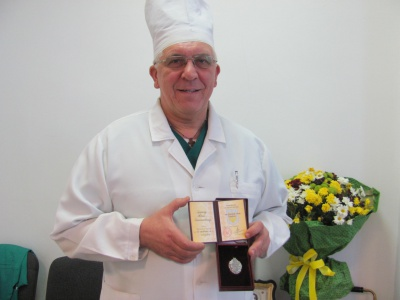 Черновицкий военный хирург получил звание «Заслуженный врач Украины»