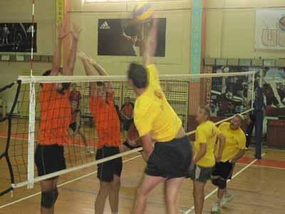 Буковинські волейболісти виступили у черговому турі вищої ліги