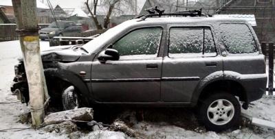 На Різдво у Сторожинецькому районі сталося шість аварій (ФОТО)