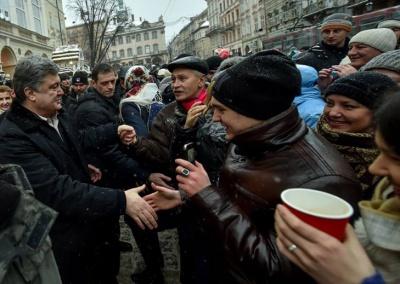 Ляшко на кухні, Тука - на передовій: як українські політики зустріли Різдво