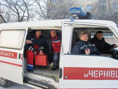 """У дні свят викликів """"швидкої"""" на Буковині побільшало на на 80%"""