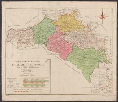 Бібліотека Нью-Йорка оприлюднила унікальну карту Буковини й Галичини 18 століття