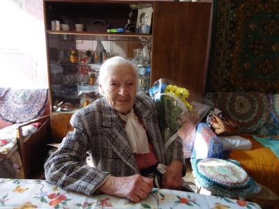 Мерія привітала чернівчанку, якій виповнився 101 рік