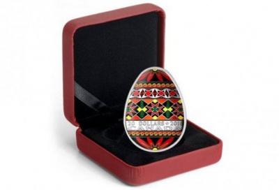Канада випустить ювілейну монету у вигляді української писанки
