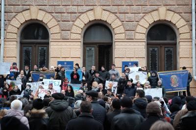 """Студенти ЧНУ вважають, що БДФЕУ протестує """"проти себе ж"""""""