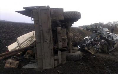Через п'яного водія-буковинця у ДТП на Донеччині загинула людина (ФОТО)