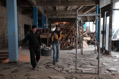 У Чернівцях розпочали ремонт кінотеатру імені Миколайчука (ФОТО)