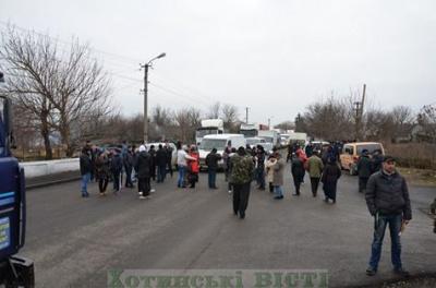 На Хотинщині продовжується блокування траси через Дністер