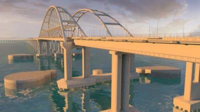 У Росії затвердили проект мосту до окупованого Криму
