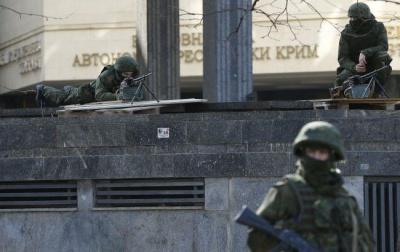 Під час окупації Криму Росія задіяла 70 тисяч силовиків