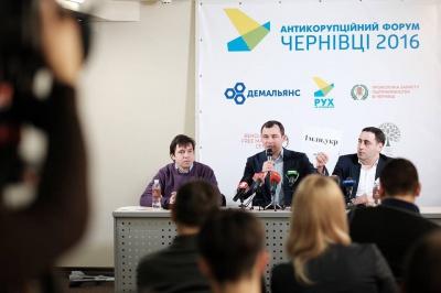 «Рух за очищення» в Чернівцях закликав чернівчан залишати підписи на їхньому сайті