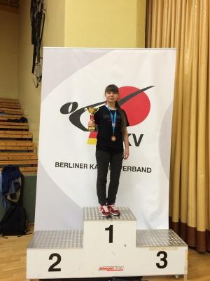 Буковинська студентка здобула перемогу з карате у Берліні
