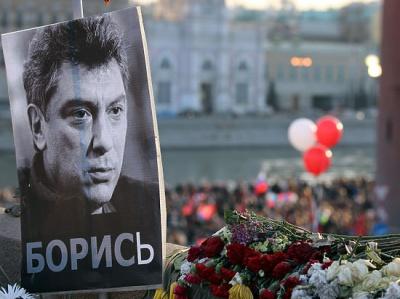 У Росії триває марш пам'яті Бориса Нємцова
