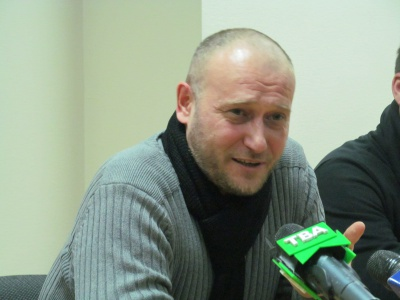 Ярош у Чернівцях презентував свій новий рух
