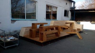 На Соборній площі Чернівців встановлять другий у місті парклет (ФОТО)