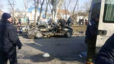 У Миколаєві правоохоронець спричинив аварію у якій загинули четверо осіб