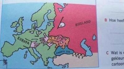 """У мережі оприлюднили незвичну карту """"скаженої Росії"""""""