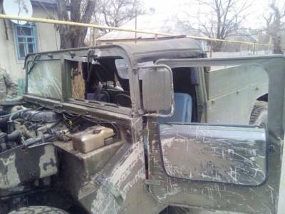 На Луганщині обстріляли авто зведеної мобільної групи. Троє поранених