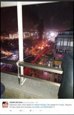 У столиці Туреччини пролунав потужний вибух. Щонайменше 15 осіб загинули