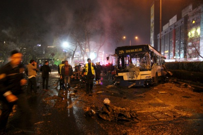 Кількість загиблих від теракту в Анкарі сягнула 27 осіб