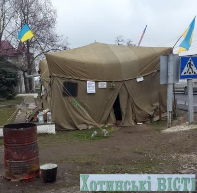 Активісти прибрали намет в Атаках
