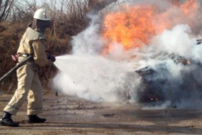 """На Буковині ледь не згорів """"Ford"""""""