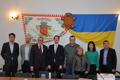 Представники Кишинева і Майнгайма обговорили можливості співпраці з Чернівцями