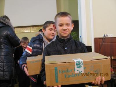 Чернівецькі діти отримали подарунки від ровесників з Німеччини (ФОТО)