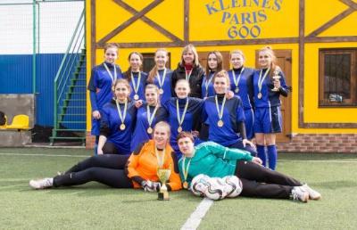 БДМУ переміг у дівчачому міні-футбольному турнірі